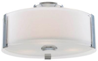 Luminaire plafonnier contemporain ZURICH Dvi DVP14532CH-SS-OP