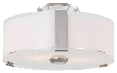 Luminaire plafonnier contemporain ZURICH Dvi DVP14532SN-SS-OP