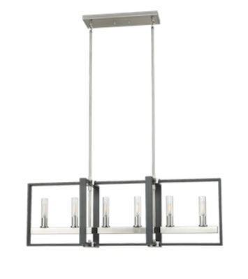 Luminaire suspendu transitionnel BLAIRMORE Dvi DVP30202SN-GR-CL