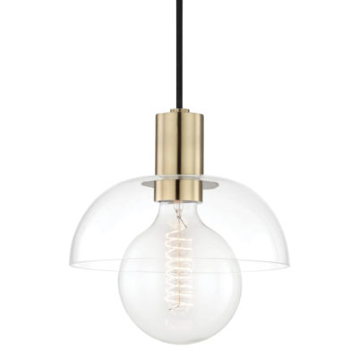 Luminaire suspendu moderne KYLA Hudson Valley H107701-AGB