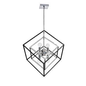 Luminaire suspendu industriel KAPPA Dainolite KAP-196P-PC-MB