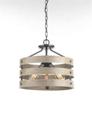 Luminaire suspendu rustique GULLIVER Progress p350049-143
