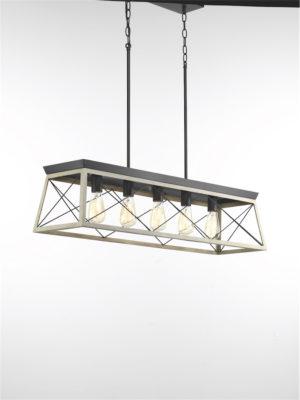 Luminaire suspendu rustique traditionnel BRIARWOOD Progress P400048-143