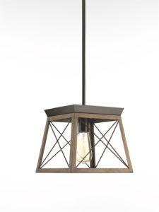 Luminaire suspendu rustique traditionnel BRIARWOOD Progress P500041-020