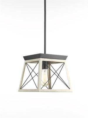 Luminaire suspendu rustique traditionnel BRIARWOOD Progress P500041-143