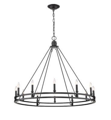 Luminaire suspendu moderne DENNISON Z-Lite 4005-12MB