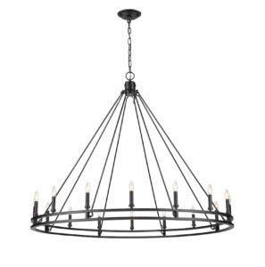 Luminaire suspendu moderne DENNISON Z-Lite 4005-18MB