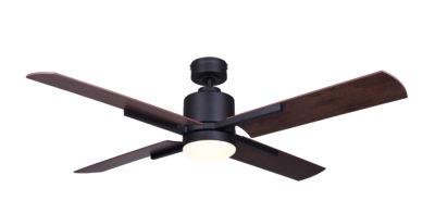 Ventilateur de plafond moderne LOXLEY Canarm CF52LOX4BK
