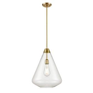 Luminaire suspendu transitionnel ST. JULIAN DVI DVP25805BR-CL