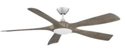 Modern ceiling fan MISTRAL Kendal AC23856-SN-GWO