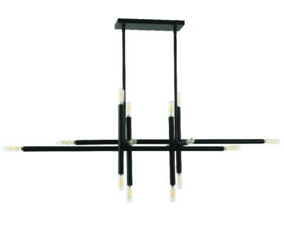 Luminaire suspendu moderne KANATA Dainolite KAN-4016HP-MB