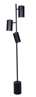 Lampe de plancher transitionnel STUDIO Luce Lumen LL1521BK