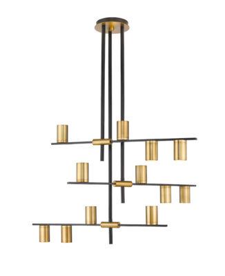 Modern pendant CALUMET Z-Lite 814-12MB-OBR