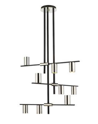 Modern pendant CALUMET Z-Lite 814-9MB-PN
