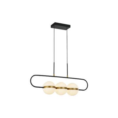 Luminaire suspendu moderne TAGLIATO Alora LP302003MBSG