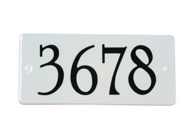 Address plate Snoc 1720-03