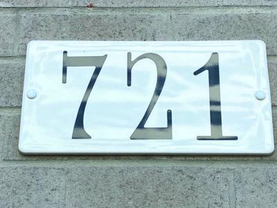 Address plate Snoc 1739-03