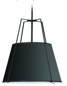 Pendant lighting TRAPEZOID TRA-1P-BK